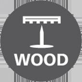 Sømværn af træ