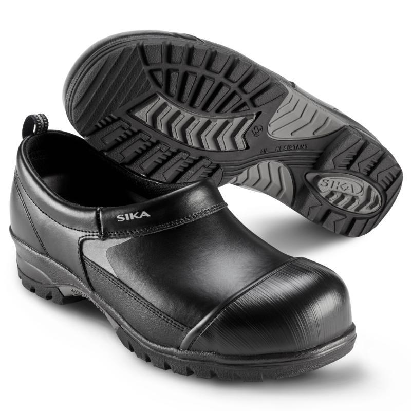 SIKA 101 Super Clog. Med  asfaltlæder som ekstra sidebeskyttelse.