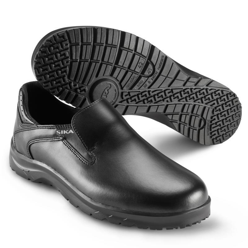 SIKA 19514 Fusion. Let hyttesko i sort og hvid