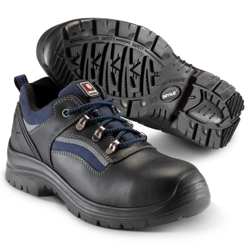 BRYNJE 231 Strike Lace Shoe   sikkerhedssko. Af fuldnarvlæder