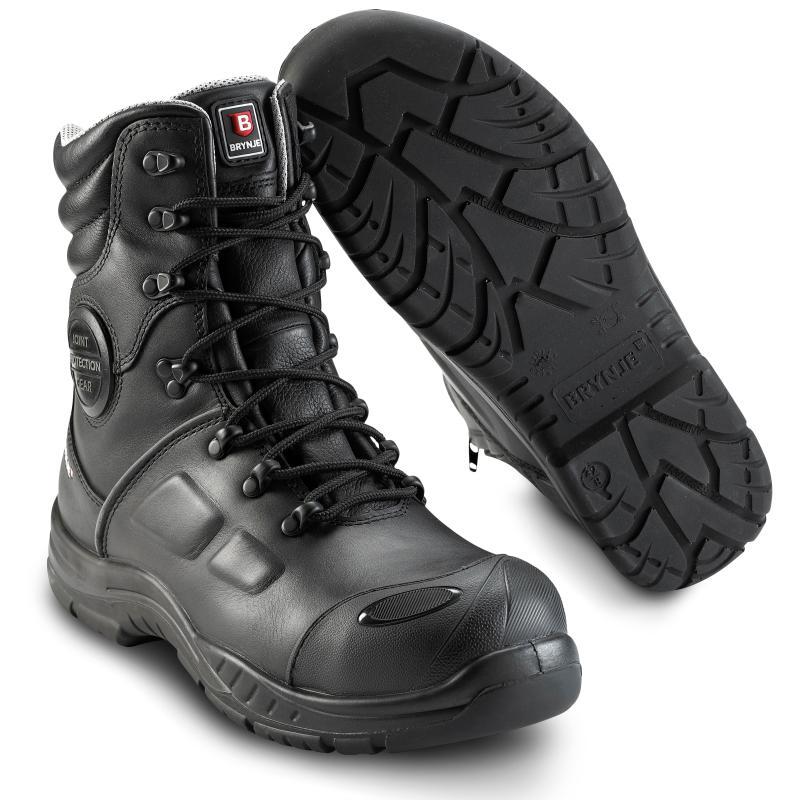 BRYNJE 365 Cool Protection sikkerhedsstøvle. Vinterfór. Vandtæt. Åndbar