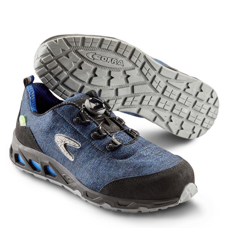 COFRA 4001 Recycle sikkerhedssko. Bæredygtig sko med BOA® Fit System