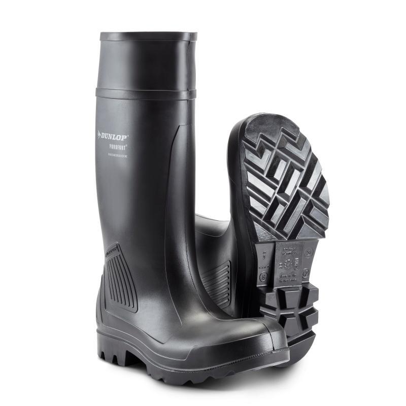 DUNLOP 462041 Purofort PU støvle. Let og slidstærk