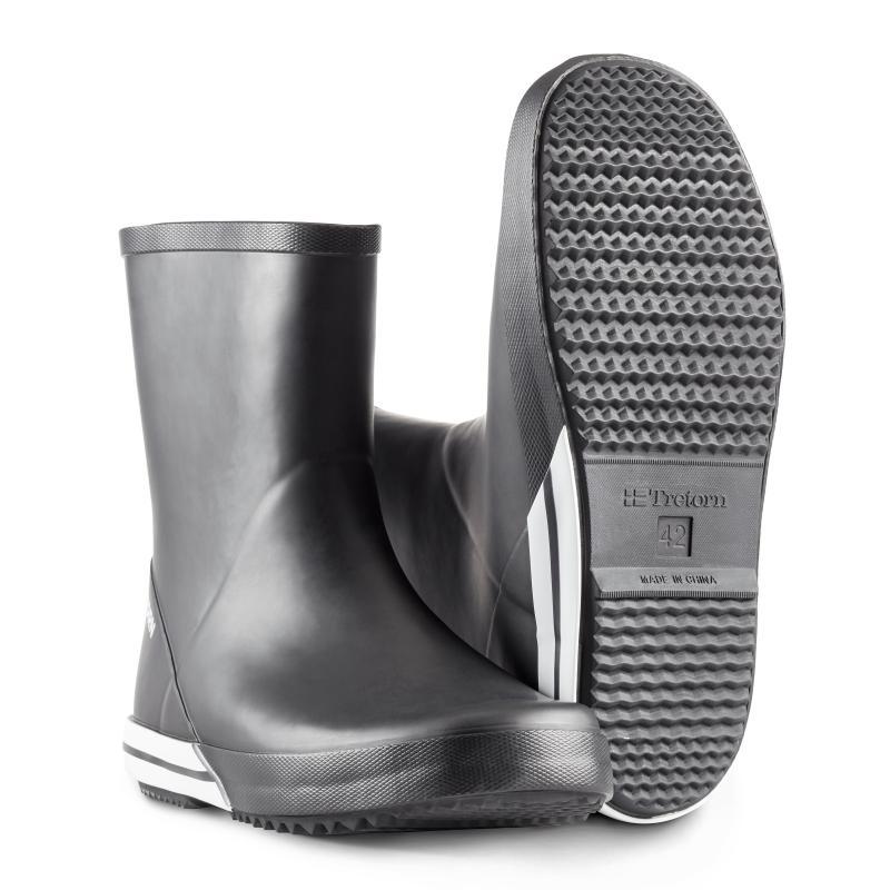 TRETORN 495001 Basic Mid.  Klassisk gummistøvle med lavt skaft