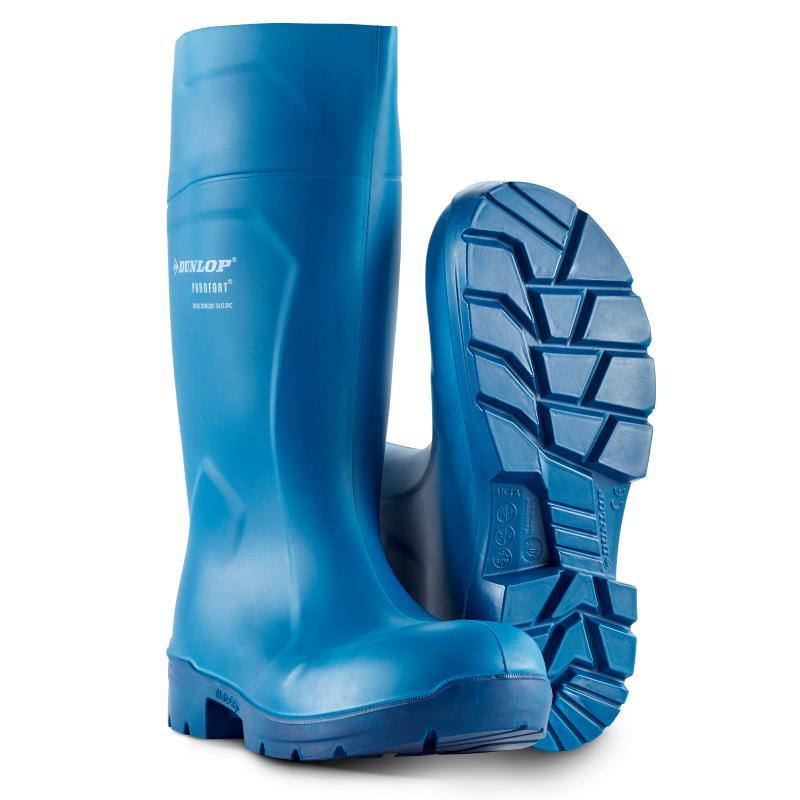 DUNLOP 61631 Purofort Multigrip PU støvle. Let. Fleksibel. Slidstærk