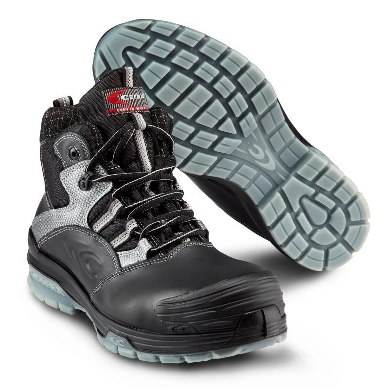 COFRA 6431 Modigliani Black sikkerhedsstøvlet. Robust og metalfri