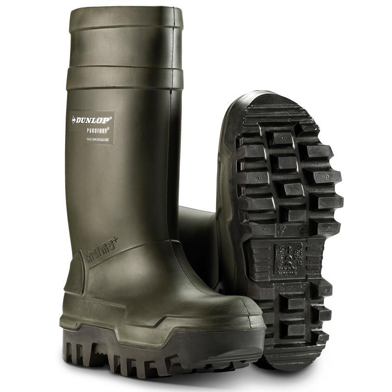 DUNLOP 662933 Purofort Thermo+. PU-støvle. Beskytter ned til -50 °C