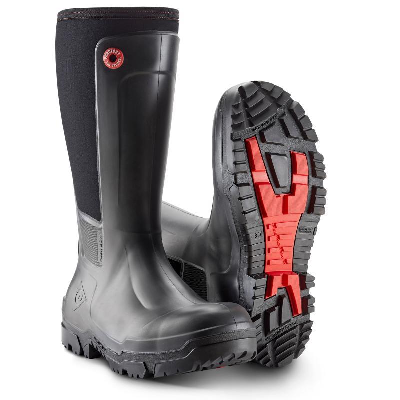 DUNLOP 68093 Workpro PU-støvle. Let og åndbar