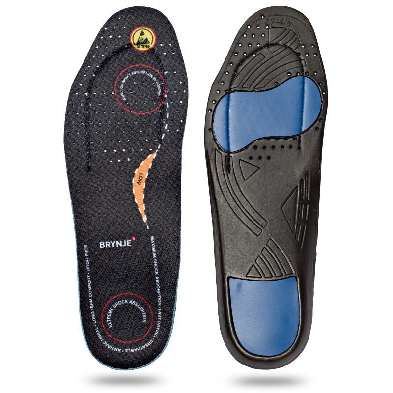 BRYNJE 68201 Ultimate Footfit. Sål til fødder med lav svang