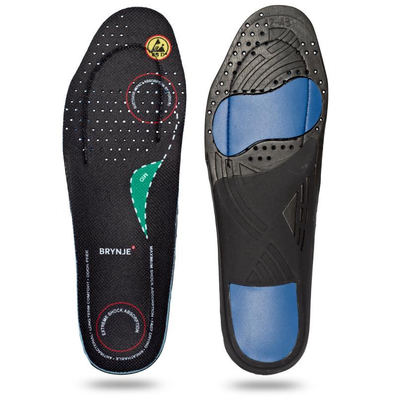 BRYNJE 68202 Ultimate Footfit. Sål til fødder med medium svang