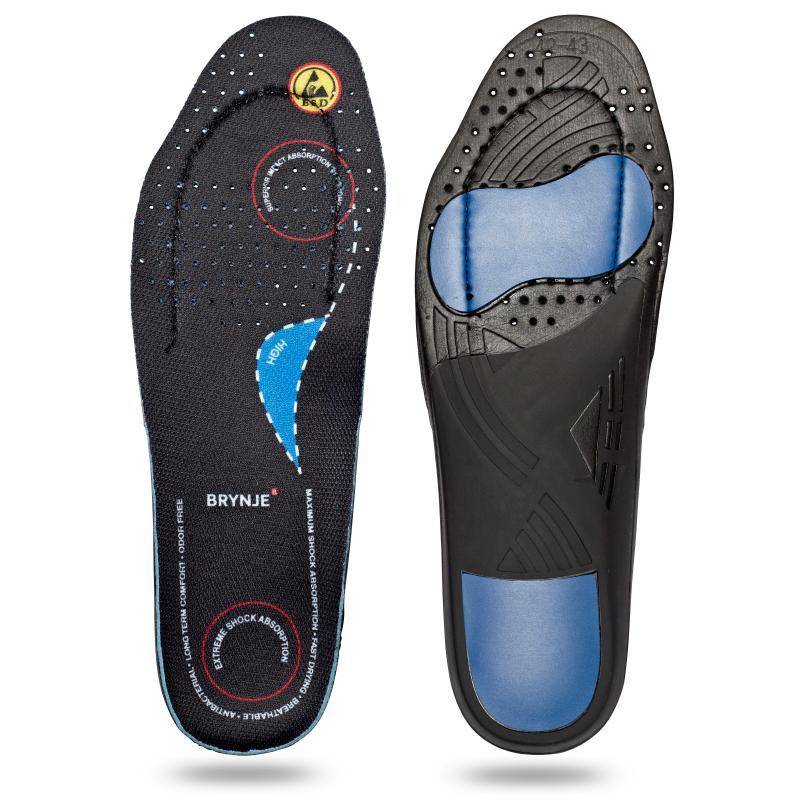 BRYNJE 68203 Ultimate Footfit. Sål til fødder med høj svang