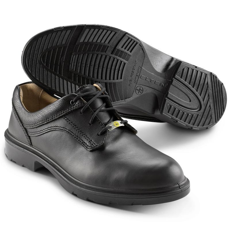 ELTEN 71306 Adviser sikkerhedssko. Pæn sko af læder