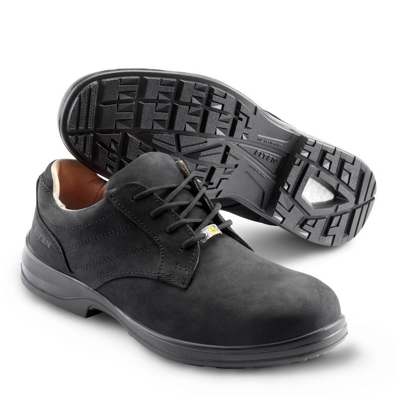 ELTEN MANAGER XXB LOW sikkerhedssko. Pæn sko med tåværn og sømværn