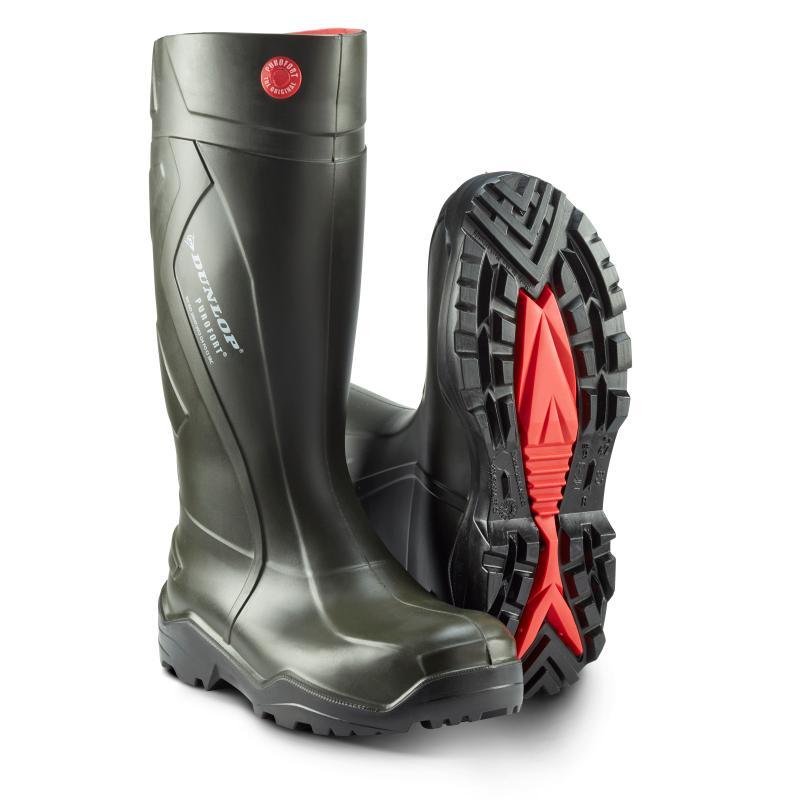 DUNLOP 762933 Purofort+. PU støvle i særklasse