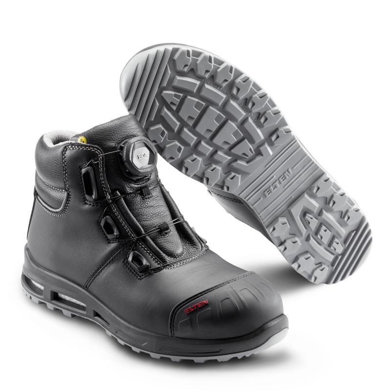 ELTEN REACTION XXT PRO BOA® MID sikkerhedsstøvlet. Læder. BOA® Fit System