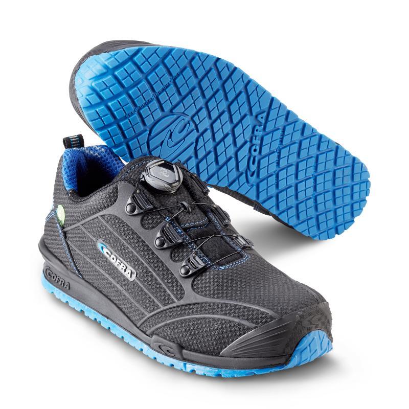 COFRA 7850 Burst Blue sikkerhedssko. Med BOA® Fit System